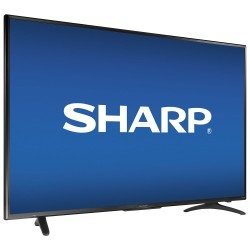"50"" 4K UHD HDR LED Sharp Roku Smart TV"